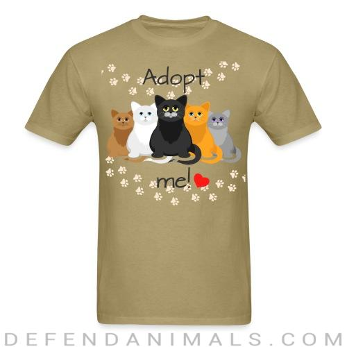 Adopt me !  - Cats Lovers T-shirt