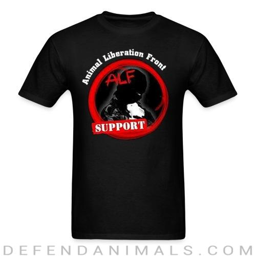 ALF Animal Liberation Front support - Animal Rights Activism T-shirt