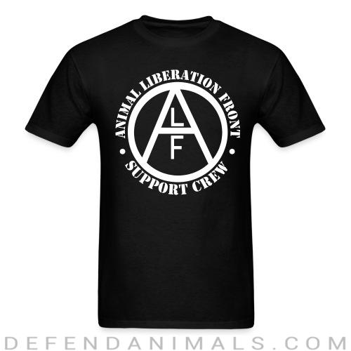 Standard t-shirt (unisex) animal liberation front support crew  - Animal Rights Activism