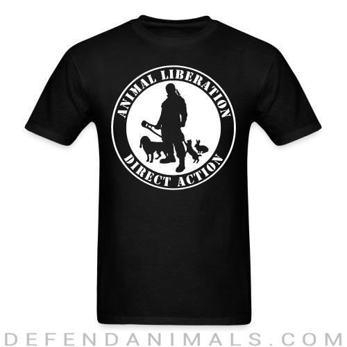 Animal liberation direct action - Animal Rights Activism T-shirt