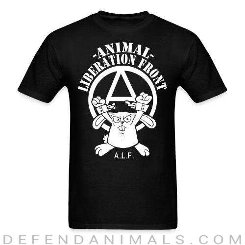 Animal liberation front A.L.F. - Animal Rights Activism T-shirt