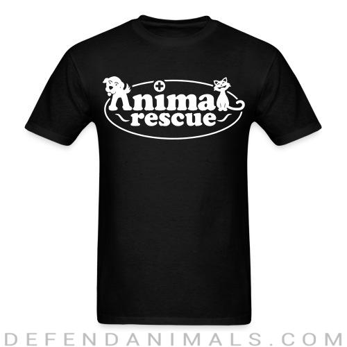 Back print t-shirt animal rescue  - Animal Rights Activism