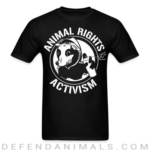 Standard t-shirt (unisex) Animal rights activism  - Animal rights activism