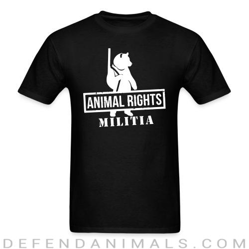 Animal rights militia - Animal Rights Activism T-shirt