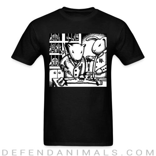 Standard t-shirt (unisex) Animal testing - Animal rights activism