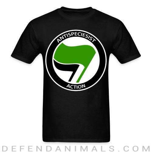 Antispeciesist action - Animal Rights Activism T-shirt