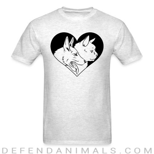 Cat and dog - Cats Lovers T-shirt