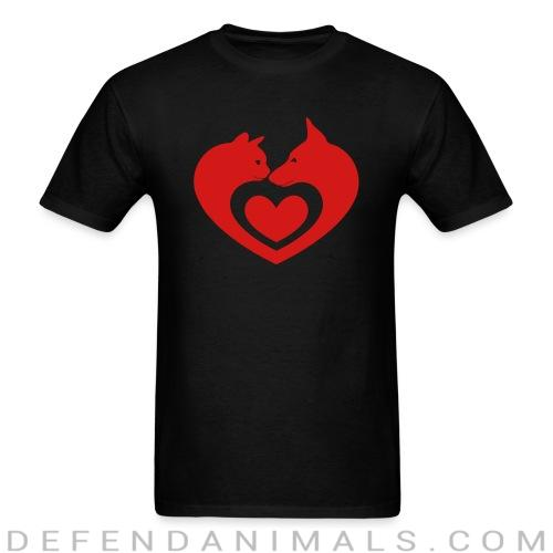 Cats and Dog  - Cats Lovers T-shirt