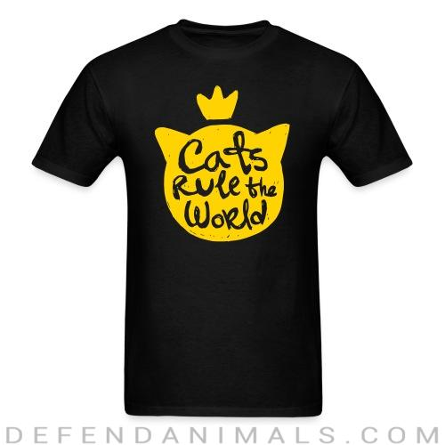 Cats rule the world - Cats Lovers T-shirt