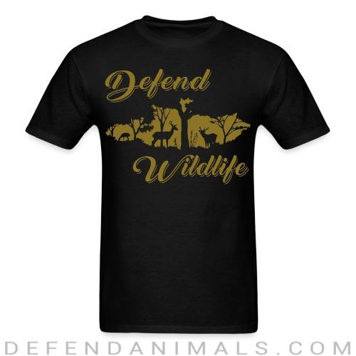 Defend wildlife - Animal Rights Activism T-shirt