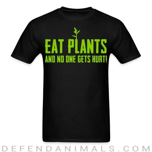 Standard t-shirt (unisex) Eat plants and no one gets hurt!  - Vegan t-shirts