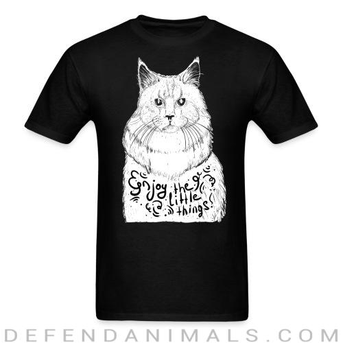 Enjoy the little things  - Cats Lovers T-shirt