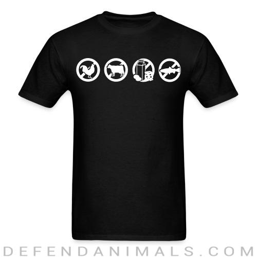 Farm animals exploitation  - Vegan T-shirt