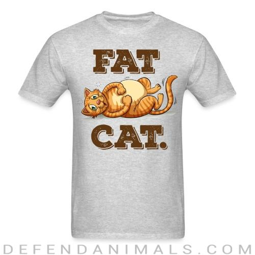 Fat Cat  - Cats Lovers T-shirt