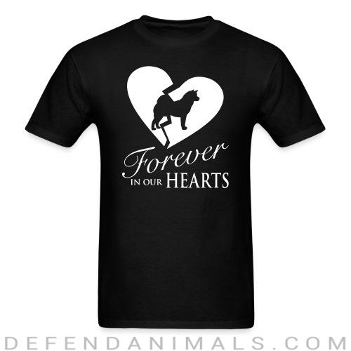 Forever in your hearts - Dog Breeds T-shirt