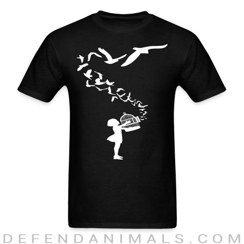 Free the animals - Animal Rights Activism T-shirt