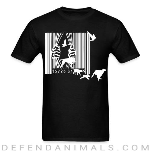 Standard t-shirt (unisex) Free the animals liberation  - Animal Rights Activism