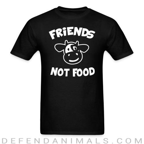 Friends not food - Animal Rights Activism T-shirt