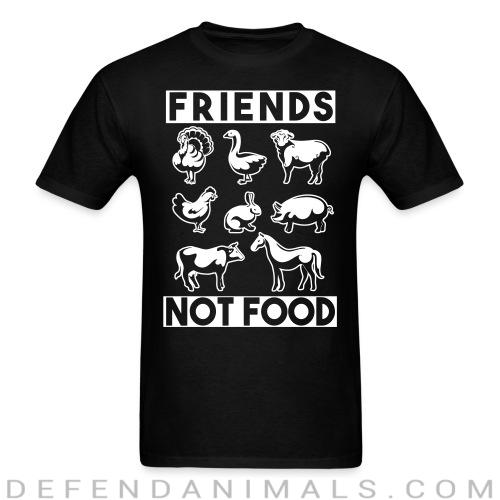 Friends not food - Vegan T-shirt
