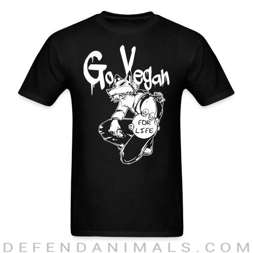 Go vegan for life - Vegan T-shirt