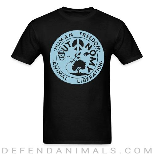 Standard t-shirt (unisex) Human freedom animal liberation  - Animal Rights Activism