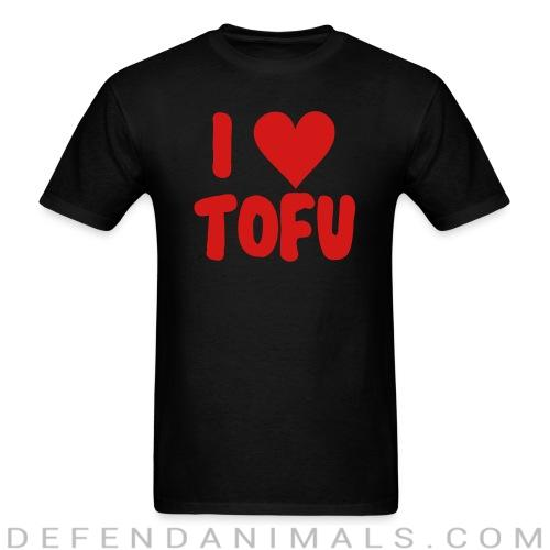 I love tofu - Vegan T-shirt