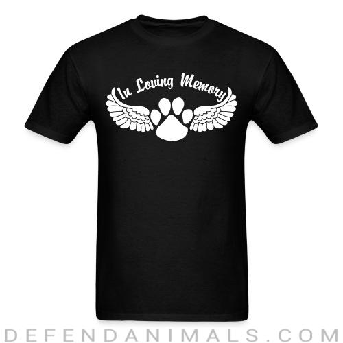 Standard t-shirt (unisex) In Loving Memory -