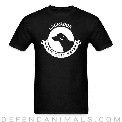Labrador man's best friend