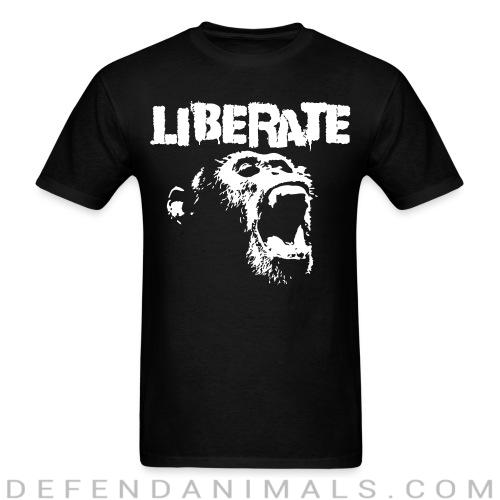 Standard t-shirt (unisex) Liberate  - Animal Rights Activism