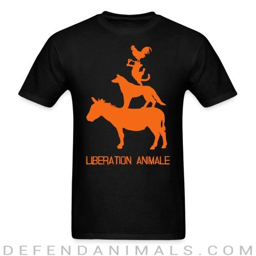 Standard t-shirt (unisex) Libération animale - Animal Rights Activism