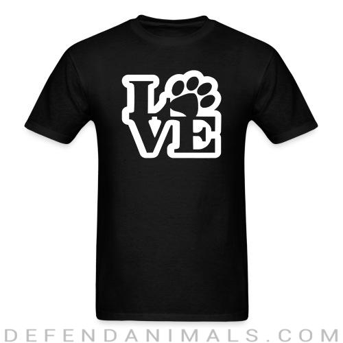 love - Dogs Lovers T-shirt