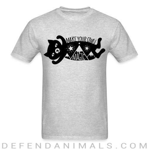 Make your own magic  - Cats Lovers T-shirt