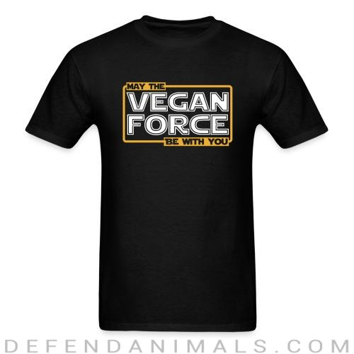 May the vegan force be with you - Vegan T-shirt
