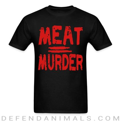 Meat = murder - Vegan T-shirt