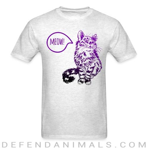 Meow - Cats Lovers T-shirt