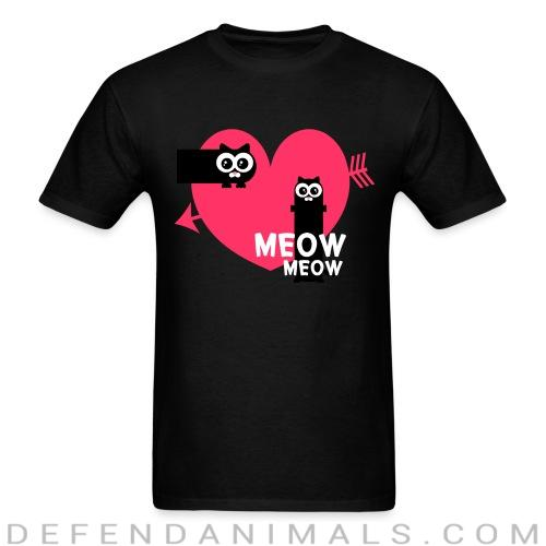 Meow Meow - Cats Lovers T-shirt