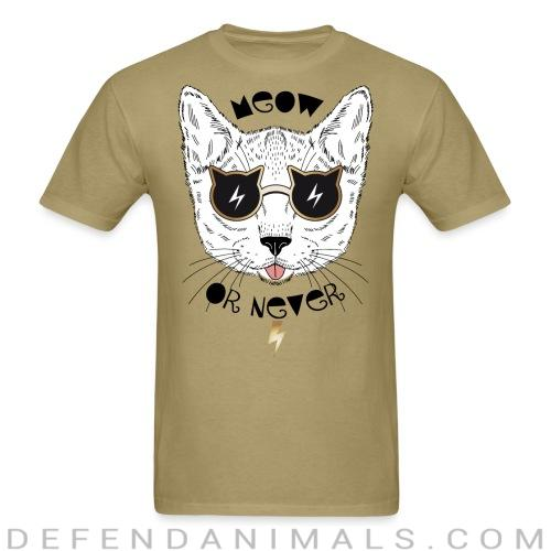 Meow or never - Cats Lovers T-shirt