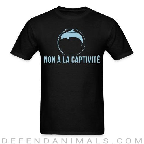 Non à la captivité - Animal Rights Activism T-shirt