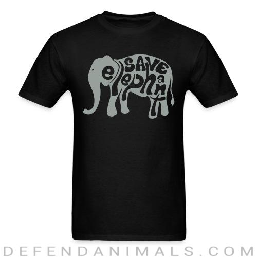 Save elephant - Animal Rights Activism T-shirt
