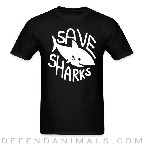 Standard t-shirt (unisex) Save sharks - Animal rights activism