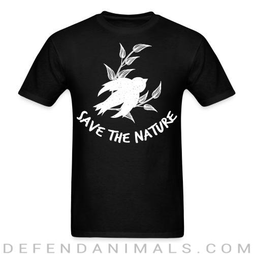 Standard t-shirt (unisex) save the nature  -