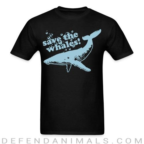 Save the whales - Animal Rights Activism T-shirt