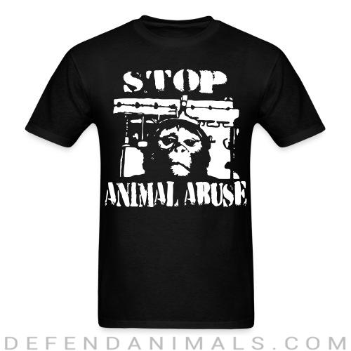 Standard t-shirt (unisex) stop animal abuse  - Animal rights activism