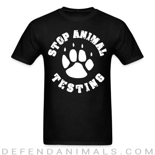 Standard t-shirt (unisex) Stop Animal testing - Animal Rights Activism