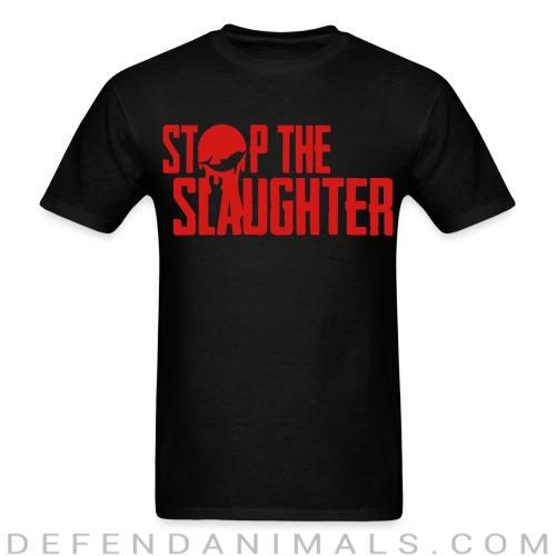 Standard t-shirt (unisex) stop the slaugther - Animal rights activism