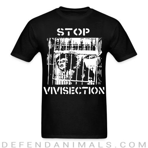 Standard t-shirt (unisex) stop vivisection - Animal Rights Activism