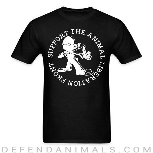 Standard t-shirt (unisex) support the animal liberation front - Animal Rights Activism