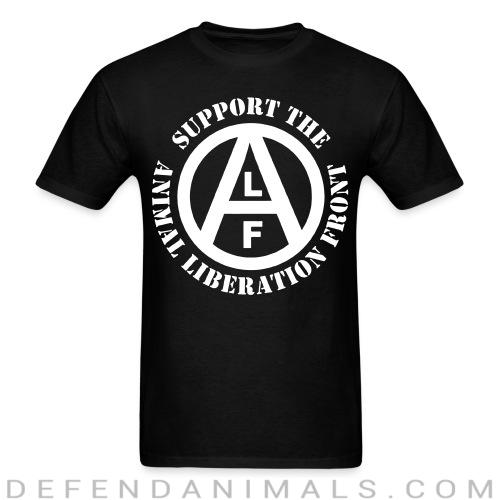 Support the Animal Liberation Front (ALF) - Animal Rights Activism T-shirt