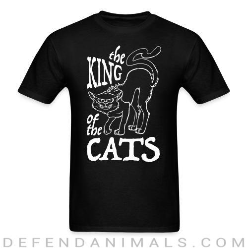The king of the cats  - Cats Lovers T-shirt