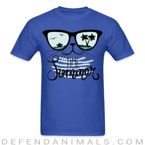 Time summer  - Cats Lovers T-shirt